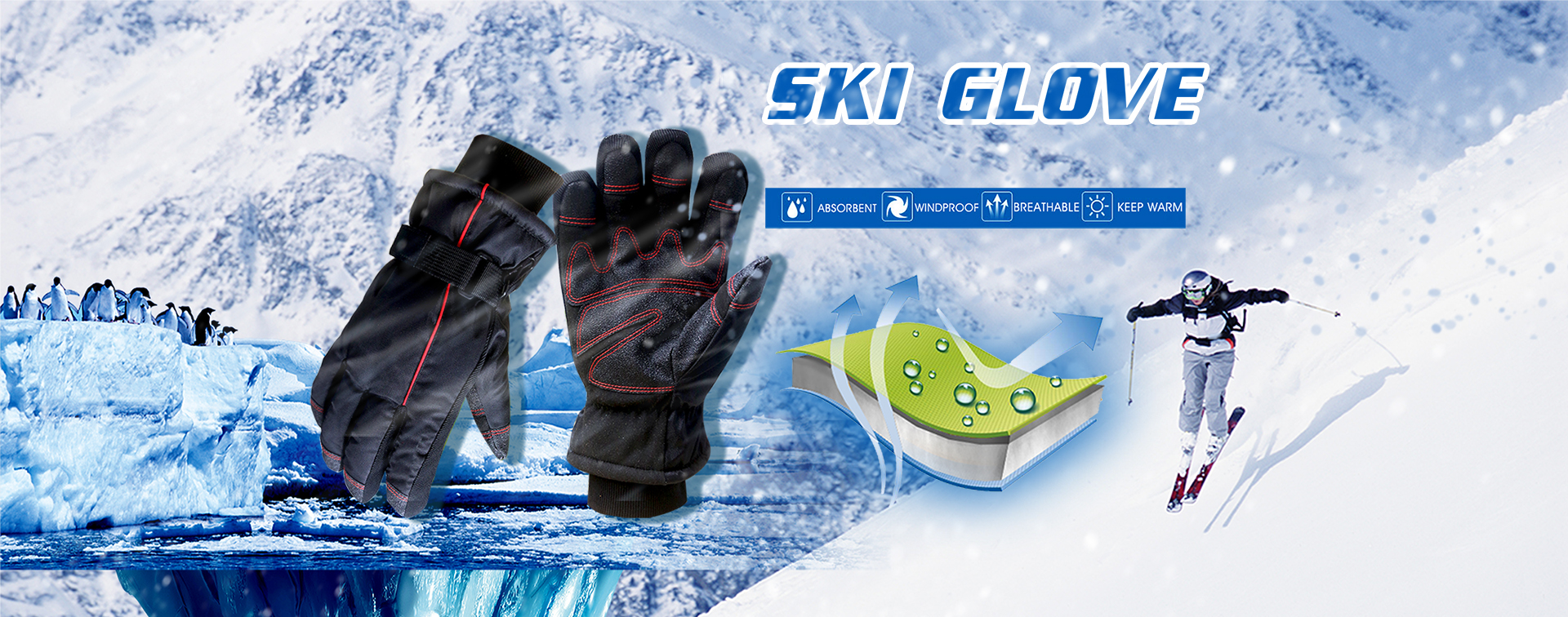 Ski Thermal Gloves