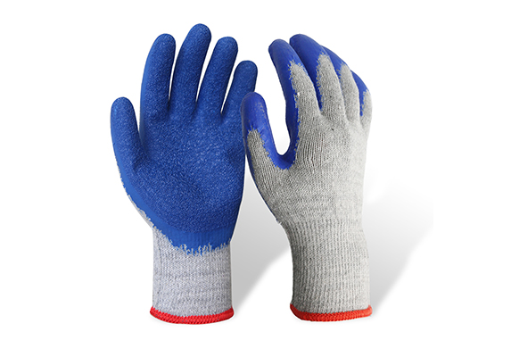 Latex Coated String Knit Safety Work Gloves/LCG-006