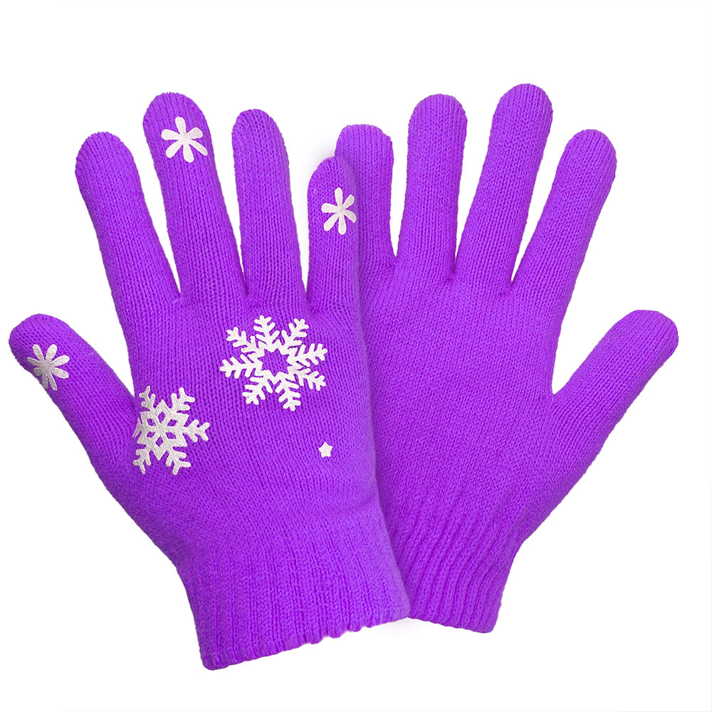 snow printed fishon knit gloves-1.png