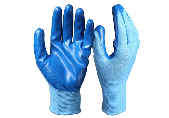 Nitrile Coated Safety Work Gloves/NCG-03
