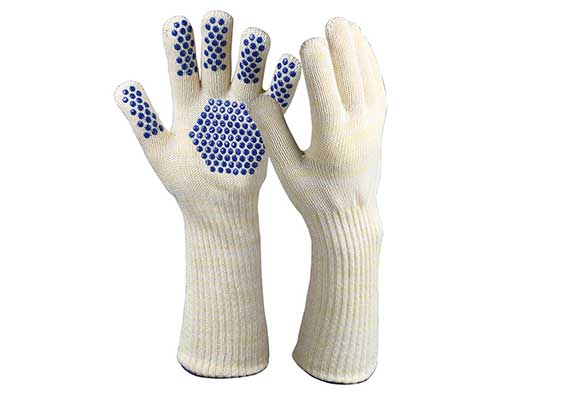 Long Cuff Heat Resistant Safety Gloves/HRG-03