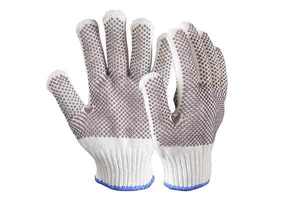 Double Ply Terry Heat Resistant Safety Gloves/HRG-02