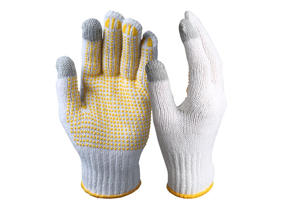 Touch Screen Safety Gloves/String Knit Gloves/TSG-01