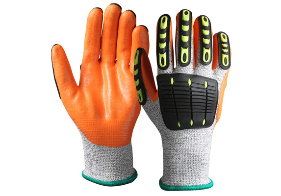 Impact Cut resistant Safety Work Gloves/IPG-002