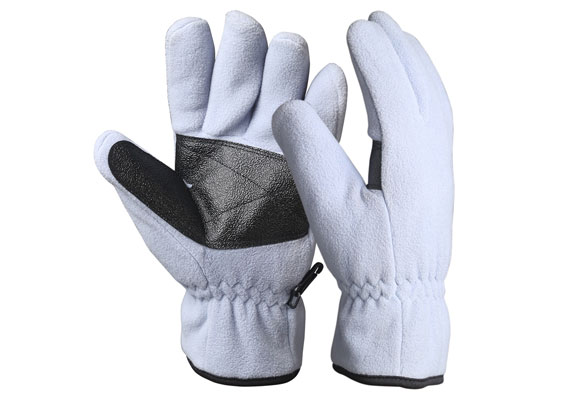 Full Finger Fleece Safety Work Gloves/WKR-01