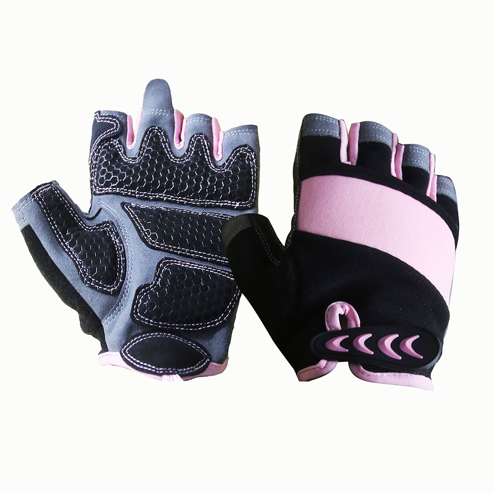 Fingerless Mechanic Safety Work Gloves/MSG-004