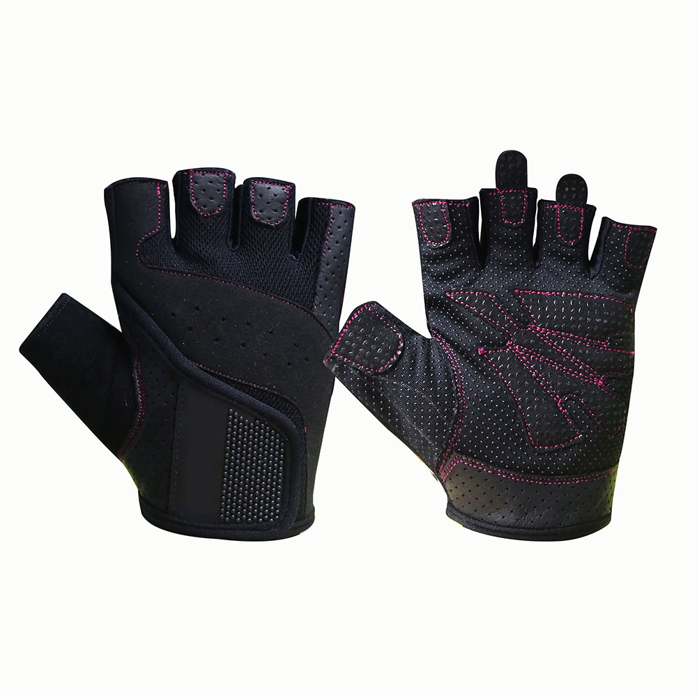 Fingerless Mechanic Safety Work Gloves/MSG-003