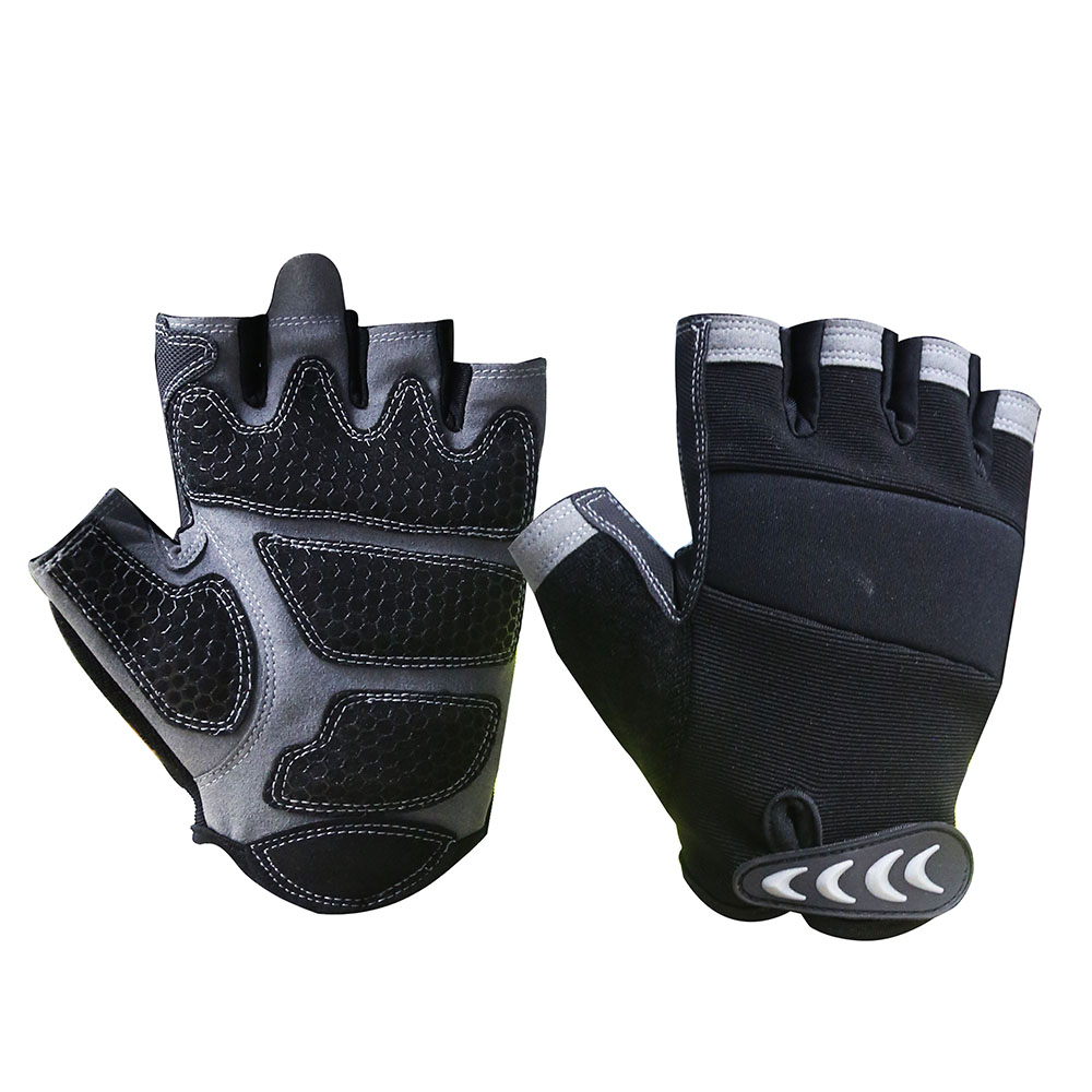 ​Fingerless Mechanic Safety Work Gloves/MSG-002