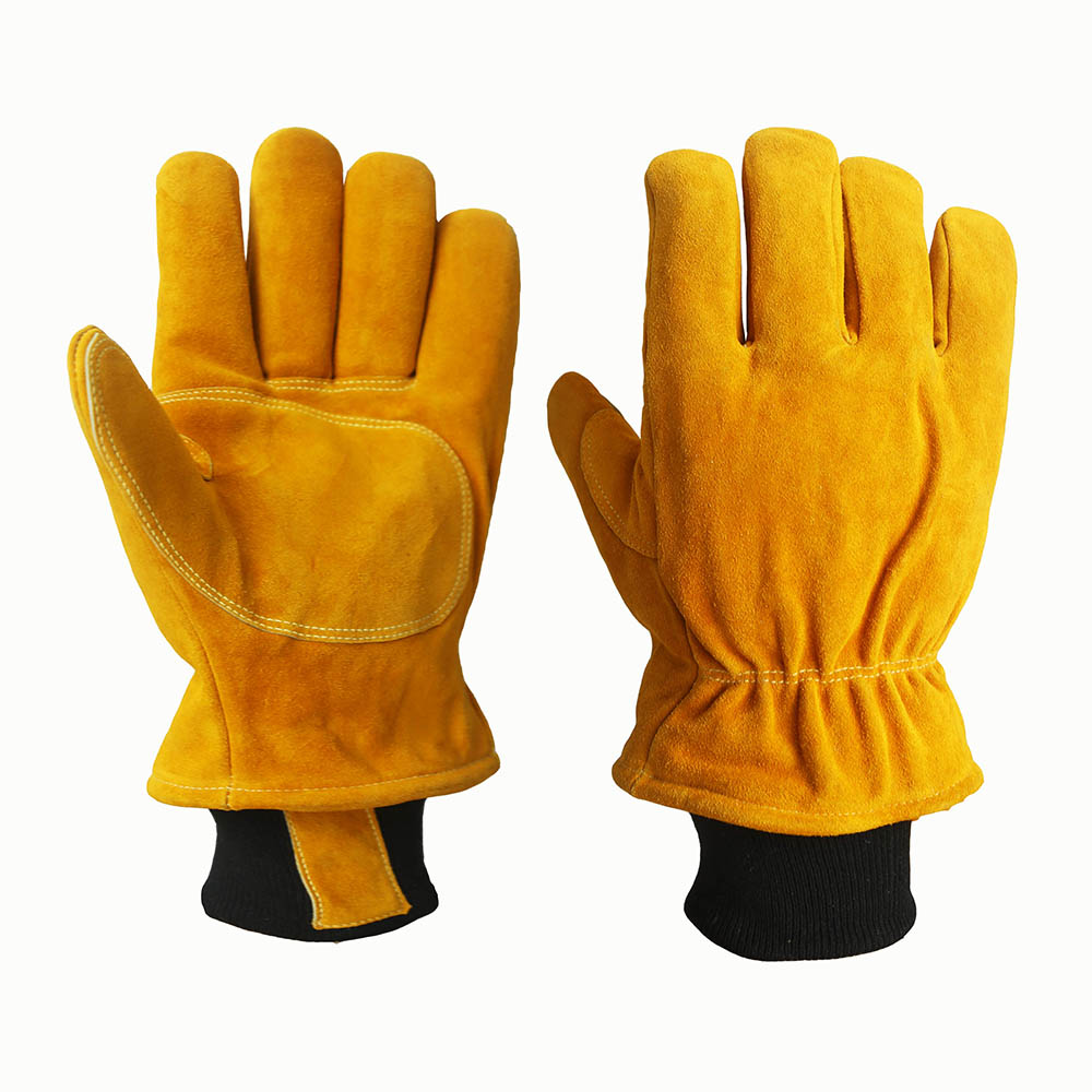 Cowhide Safety Work Gloves/CLG-09