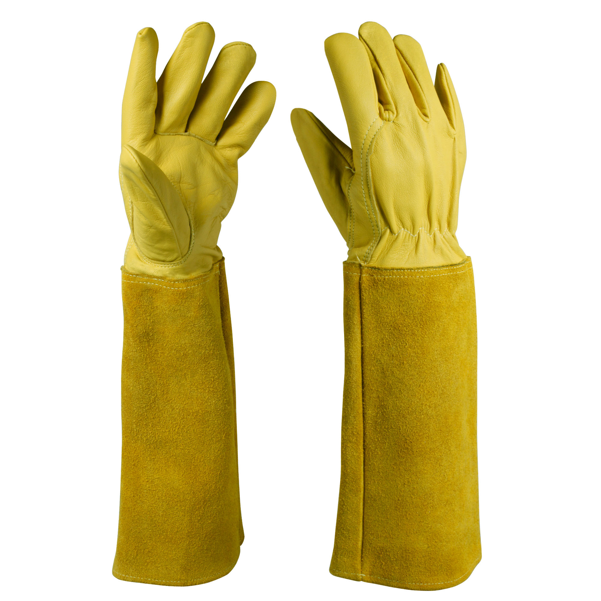 Cowhide Safety Work Gloves/CLG-03