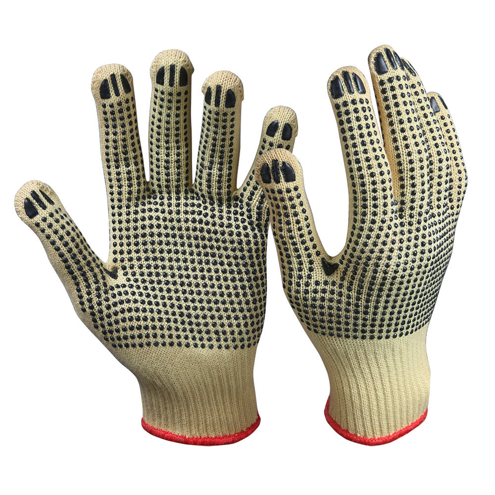 Kevlar Aramid Cut Resistant Safety Work Gloves/CRG-04