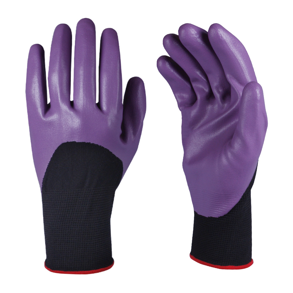 Nitrile Coated Safety Work Gloves/NCG-008