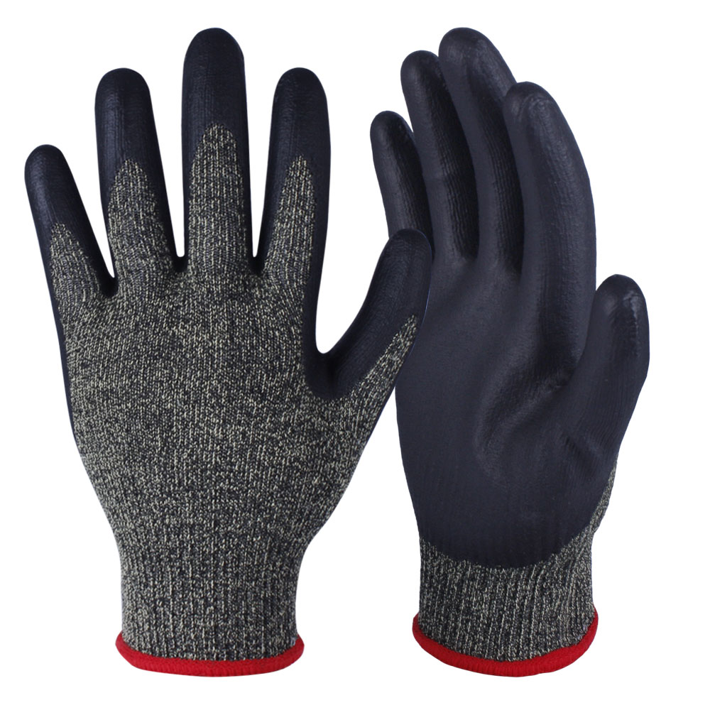 Nitrile Coated Safety Work Gloves/NCG-012