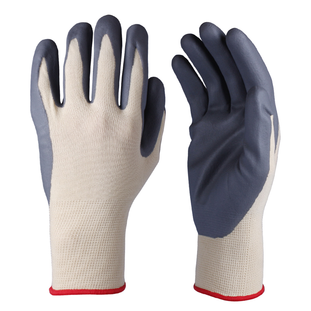 Nitrile Coated Nylon Gloves/NCG-014