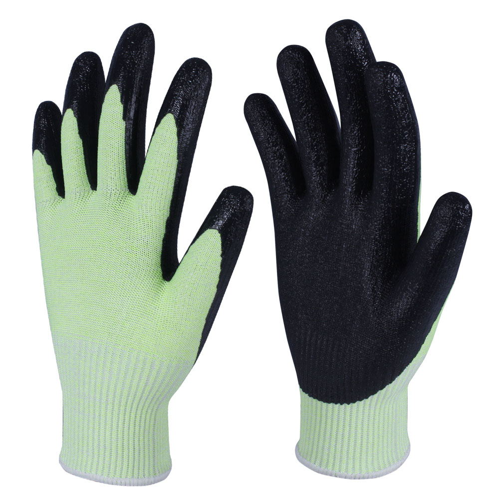 Nitrile Coated Safety Work Gloves/NCG-015