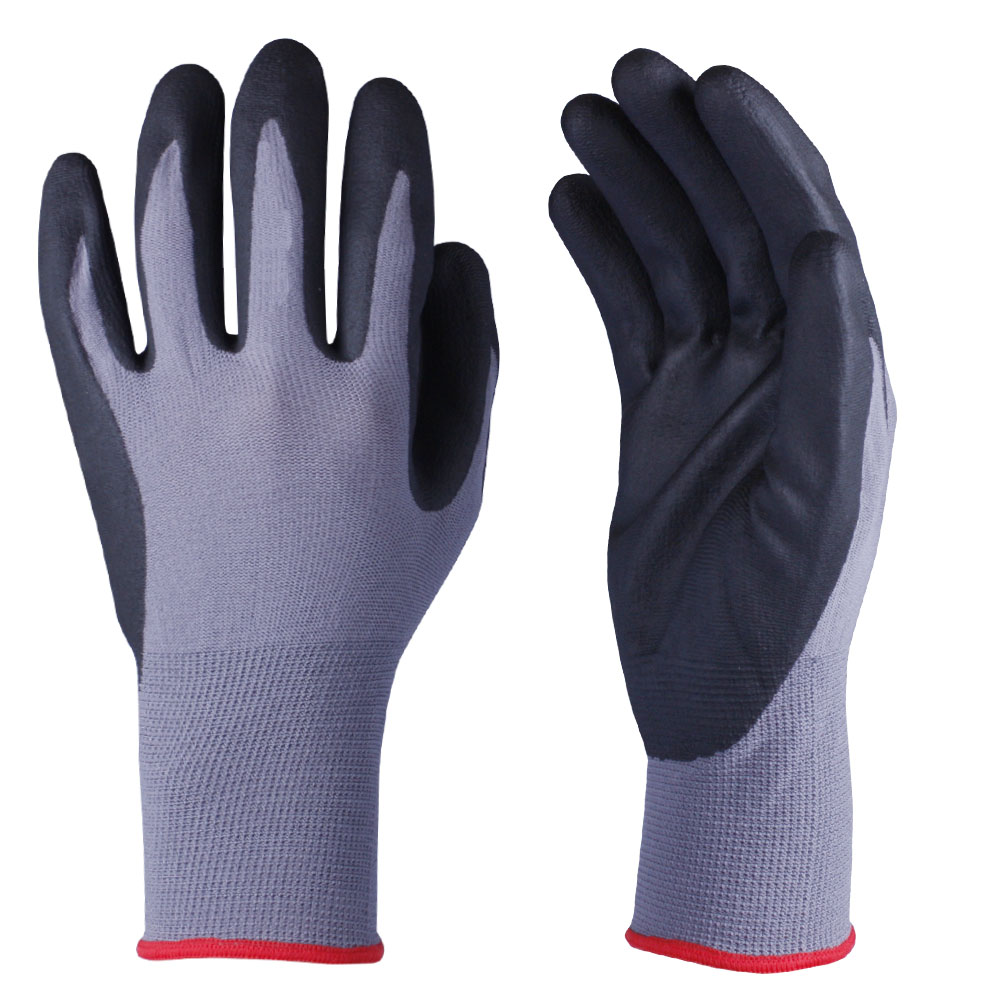 Nitrile Coated Safety Work Gloves/NCG-021