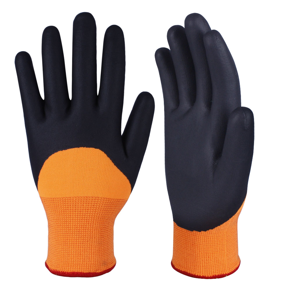 Nitrile Coated Safety Work Gloves/NCG-023