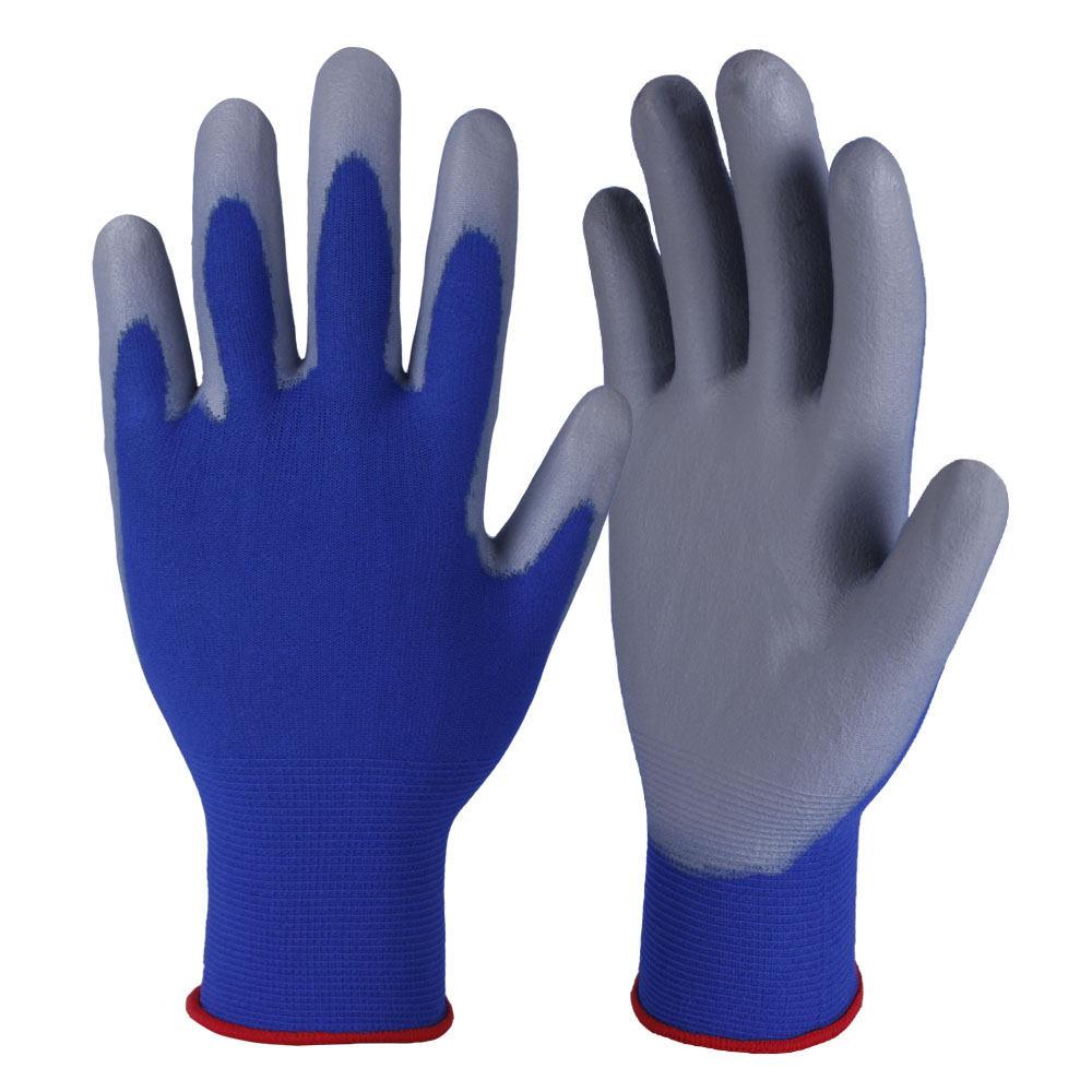 PU Coated Safety Work Glove/PCG-005