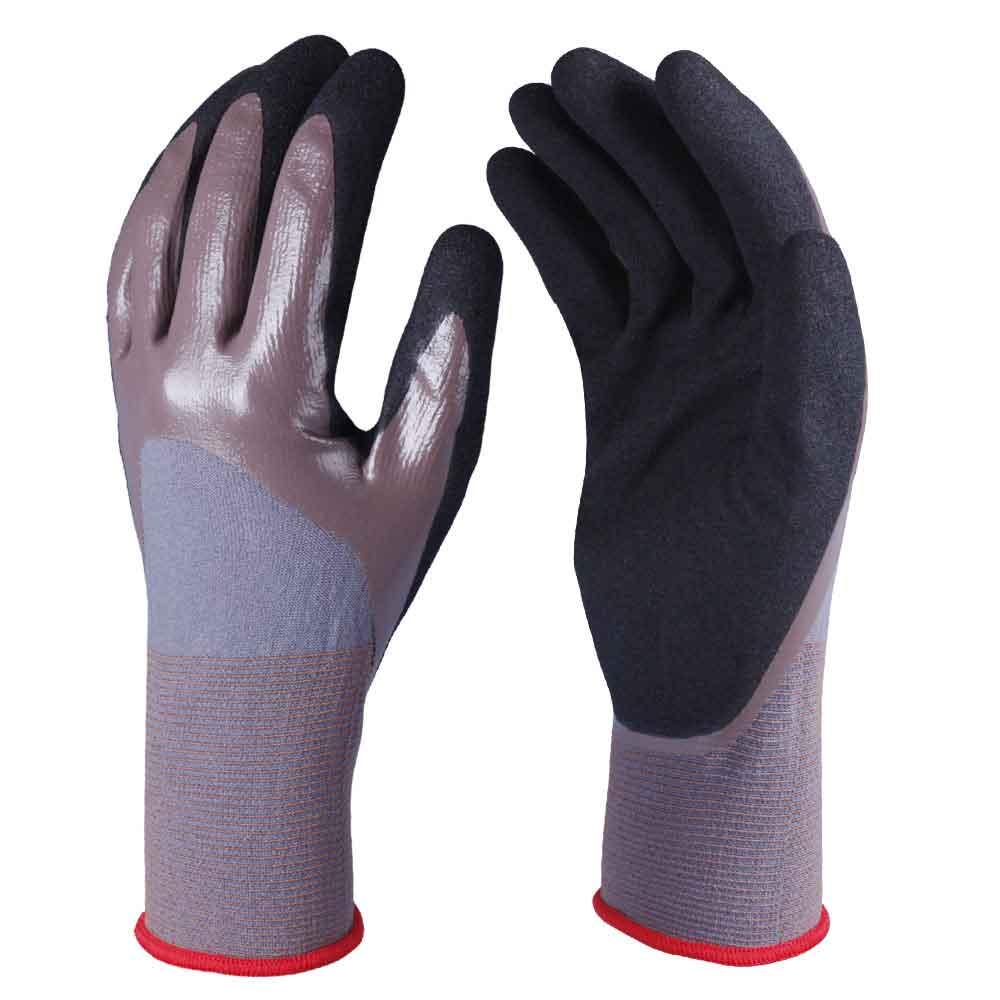 Nitrile Coated Safety Work Gloves/NCG-027