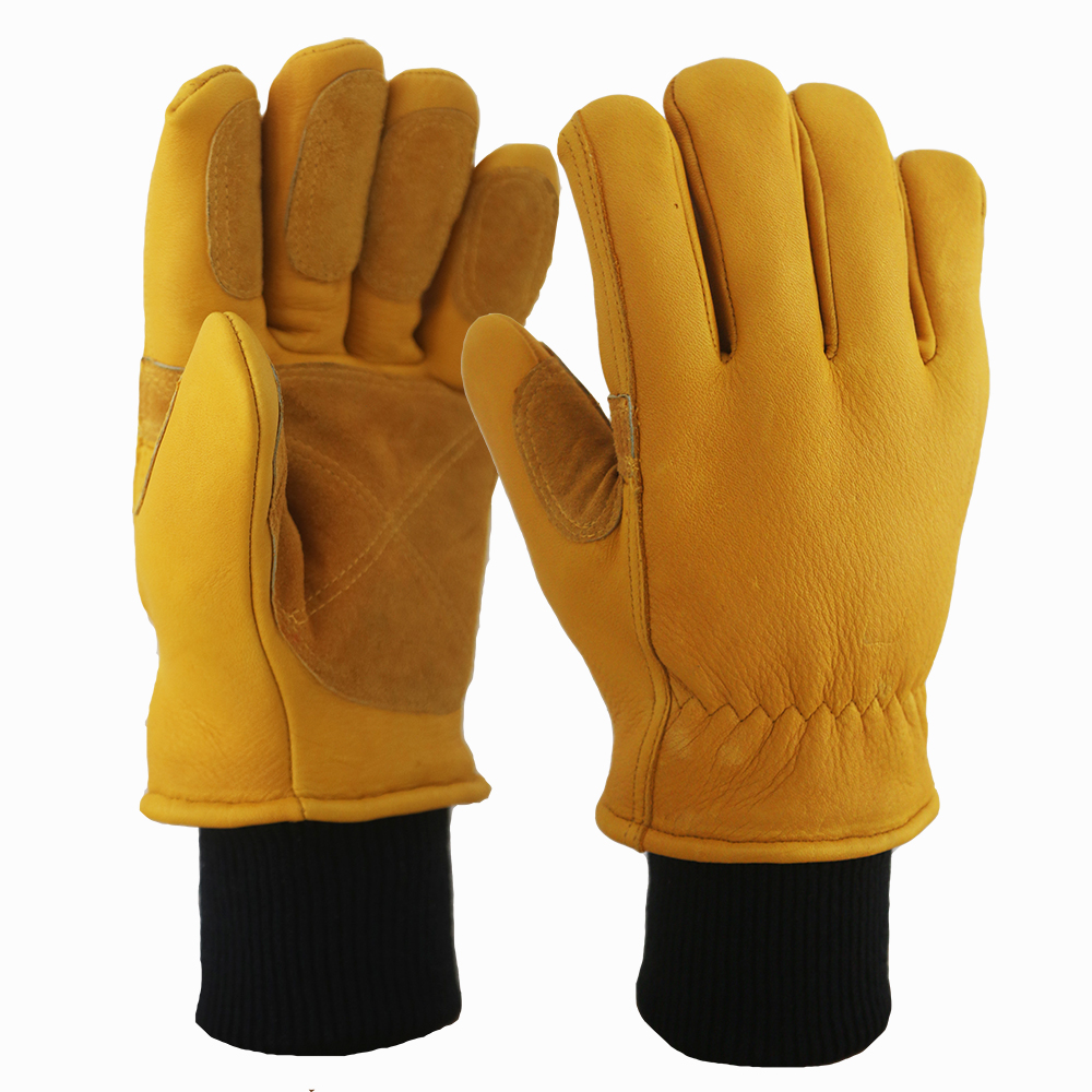 Buckskin Safety Work Gloves/BLG-02