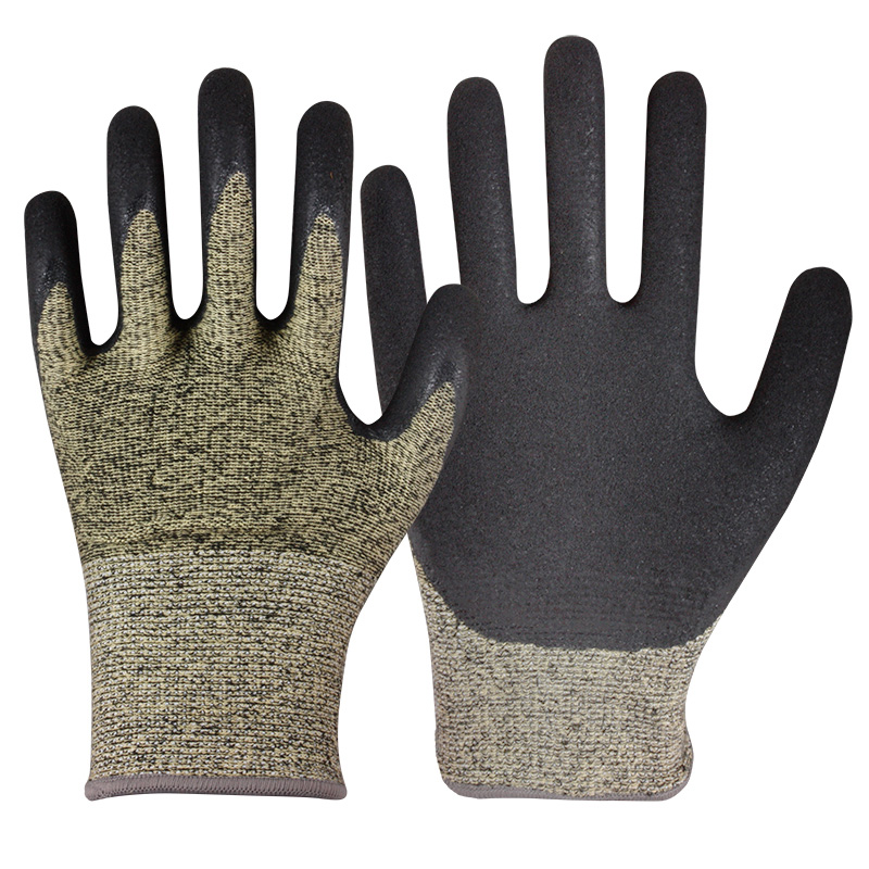 Nitrile Coated HPPE Gloves/CRG-008