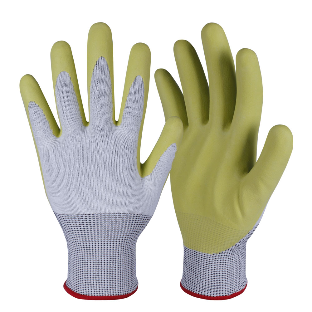 Nitrile Coated Safety Work Gloves/NCG-028