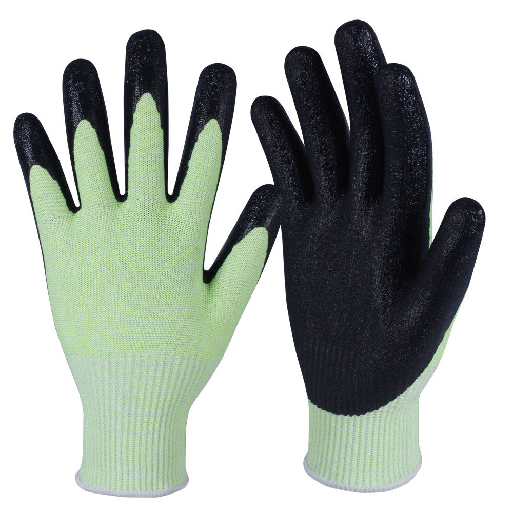 Latex Coated HPPE Gloves/LCG-007