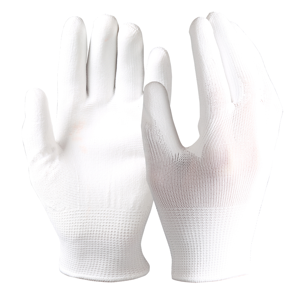 PU Coated Light Duty Safety Work Gloves/PCG-01