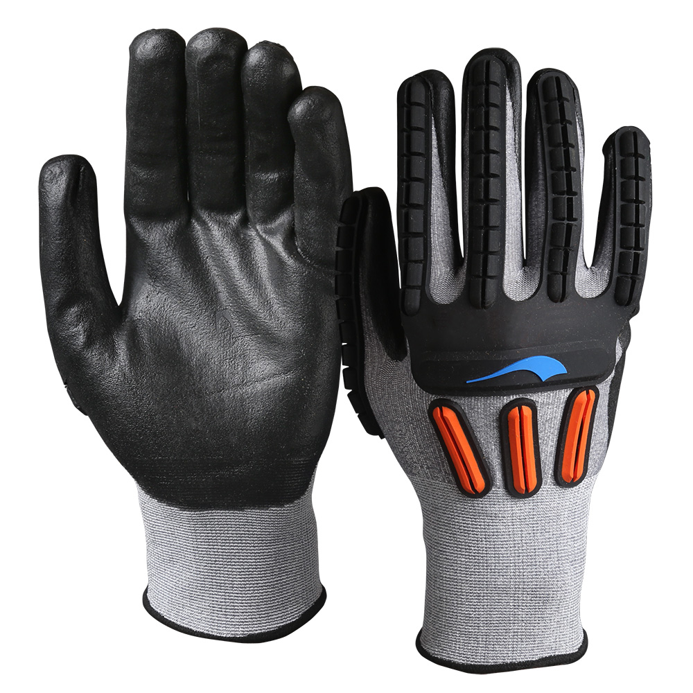 Impact Cut Resistant Safety Work Gloves/IPG-003