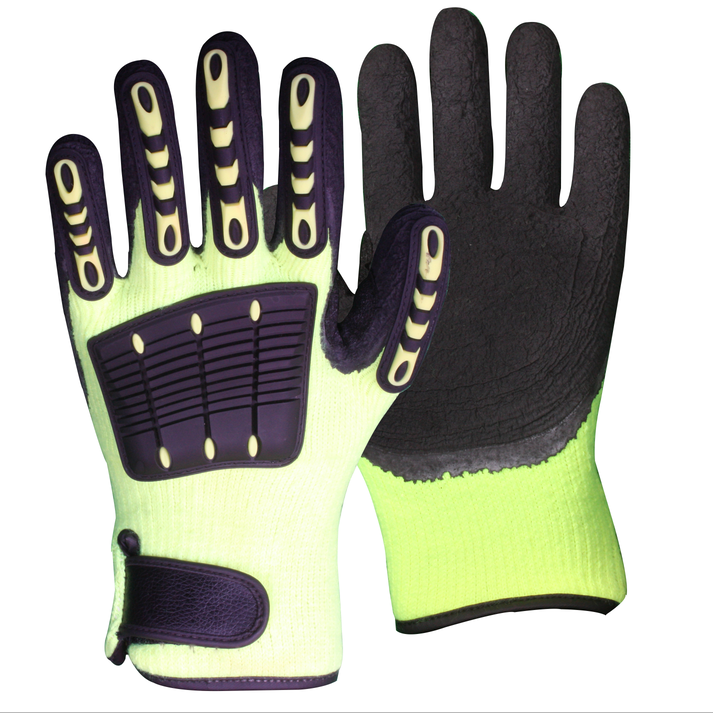 Impact Thermal Terry Safety Work Gloves/IPG-001