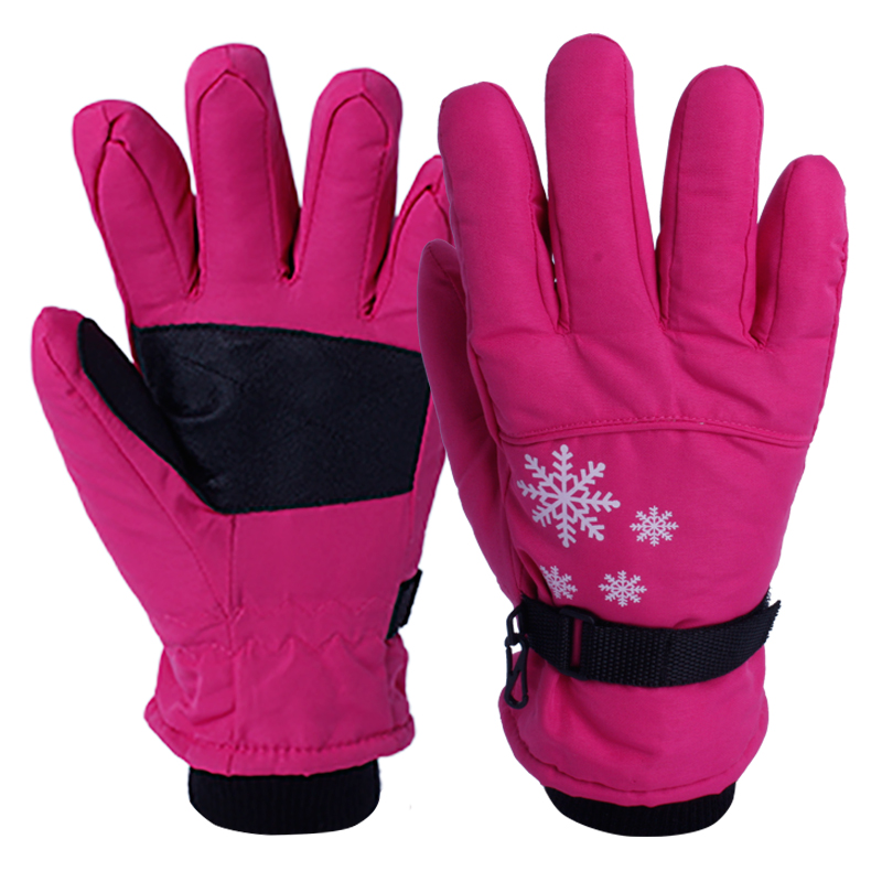 Nylon Insulated Ski Thermal Gloves/IWG-015-C
