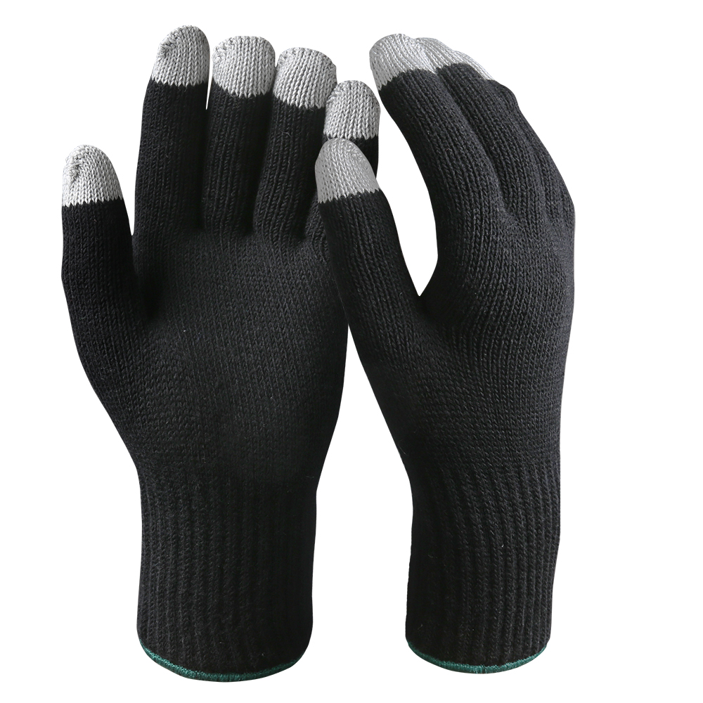 Touch Screen Gloves/Double Ply Touch Screen Safety Work Gloves/TSG-04