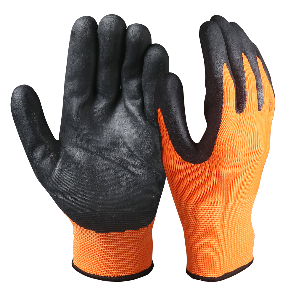 Touch Screen Safety Work Gloves/Nitrile Coated/TSG-03