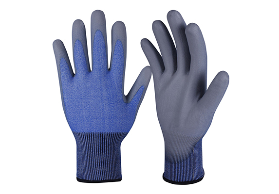 PU Dipped Cut Resistant Gloves/PCG-007