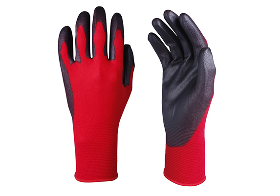 PU Coated Safety Work Glove/PCG-006