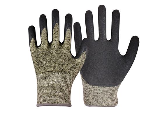 Nitrile Coated HPPE Gloves/CRG-05