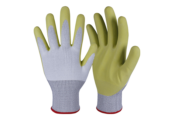 PU Coated Cut Resistant Safety Work Gloves/CRG-006