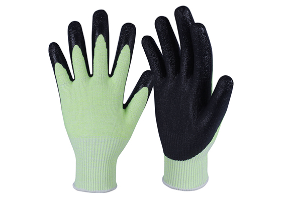 Latex Coated HPPE Gloves/LCG-07