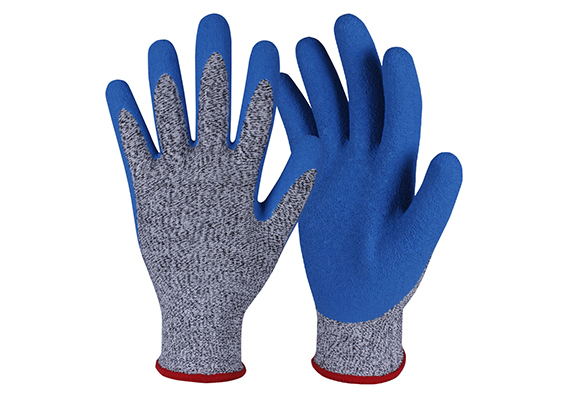 Latex Coated HPPE Gloves/LCG-012