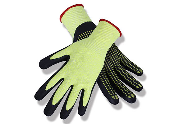 Nitrile Coated Safety Work Gloves/NCG-031