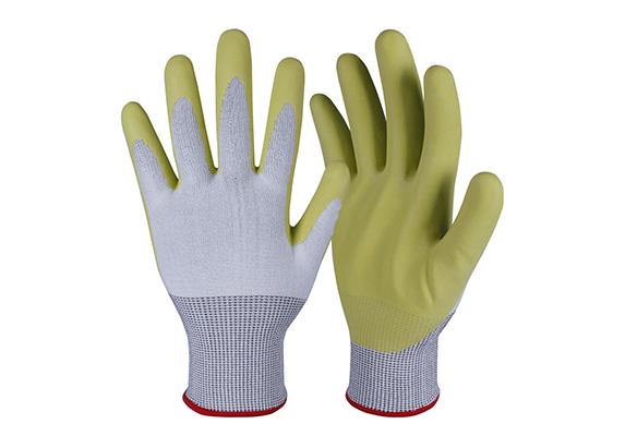 Nitrile Coated Safety Work Gloves/NCG-028