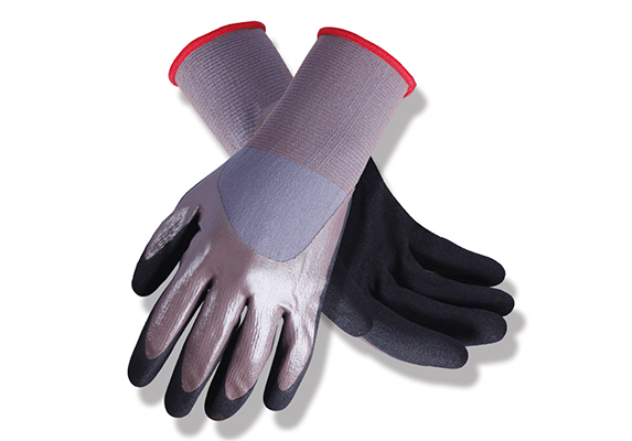 Nitrile Coated Safety Work Gloves/NCG-027