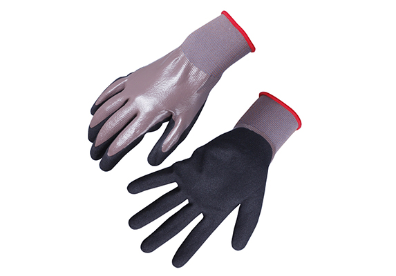 Nitrile Coated Safety Work Gloves/NCG-026