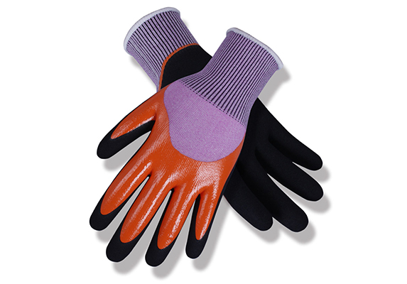 Nitrile Coated Safety Work Gloves/NCG-024