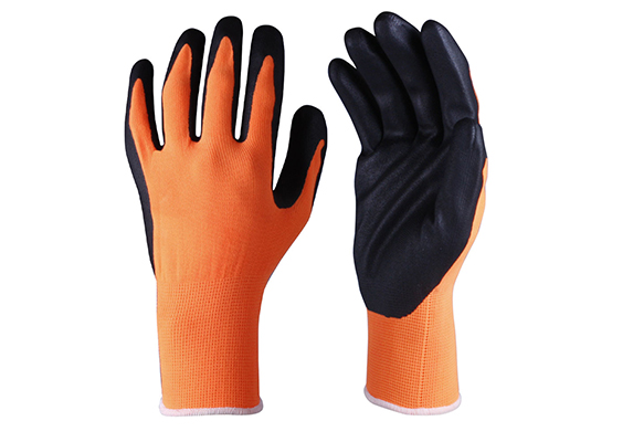 Nitrile Coated Safety Work Gloves/NCG-022