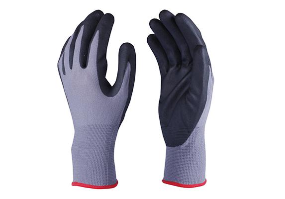 Nitrile Coated Safety Work Gloves/NCG-021
