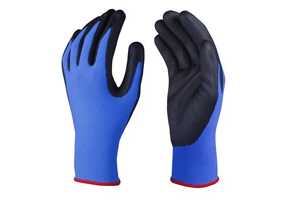 Nitrile Coated Safety Work Gloves/NCG-018