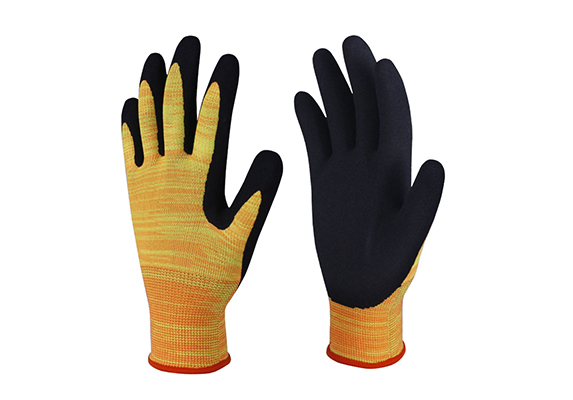 Nitrile Coated Safety Work Gloves/NCG-007