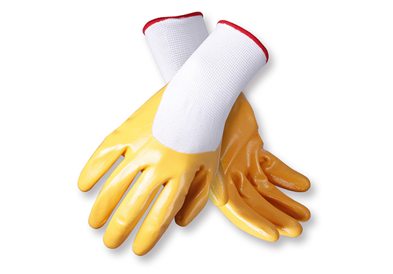Nitrile Coated Safety Work Gloves/NCG-005