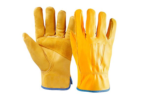 Cowhide Safety Work Gloves/CLG-006